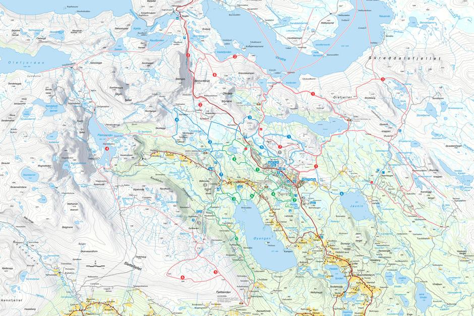 beitostølen kart About Beitostølen – Beitostølen Aktiv & Ski School beitostølen kart